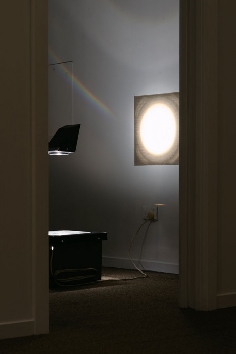Justin Jade Morgan - Light Me Up installation