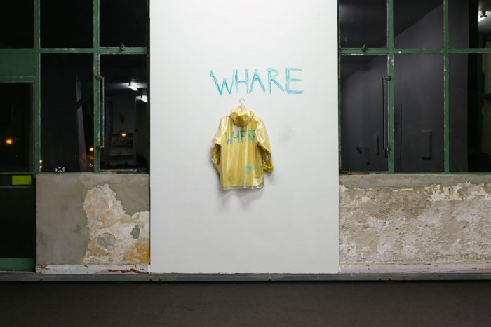 Samin Son - Where Whare installation