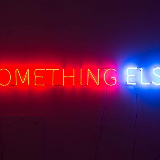 Something or Something Else