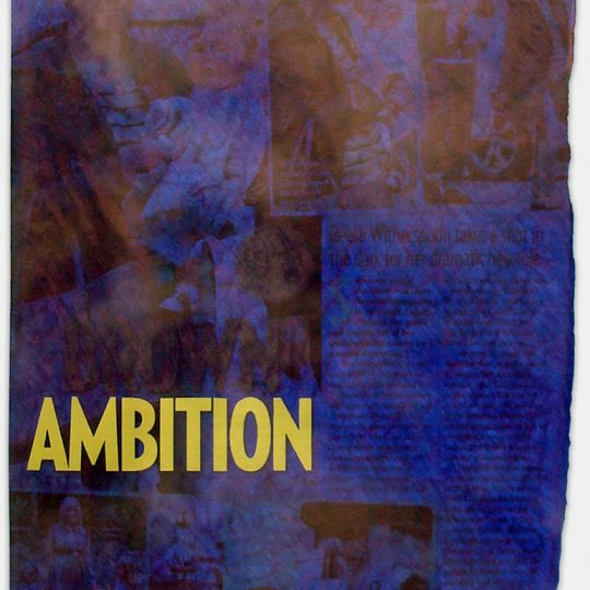 Filled Except For Ambition