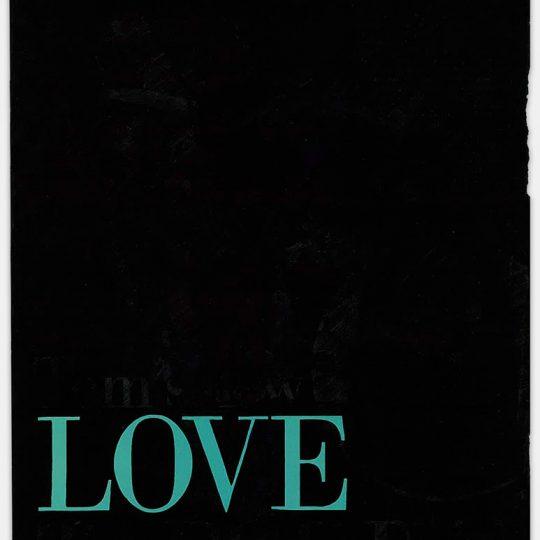 Filled Except for Love (Aqua)