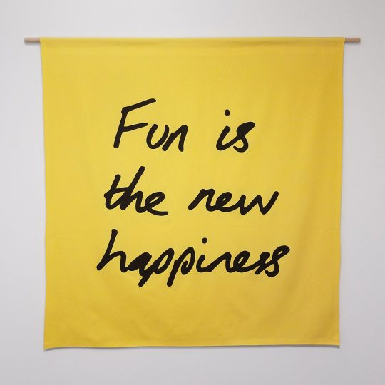 Fun is the New Happiness