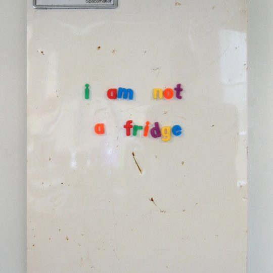 I am not a fridge