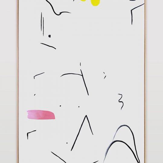 Untitled (painted arrangement #8)