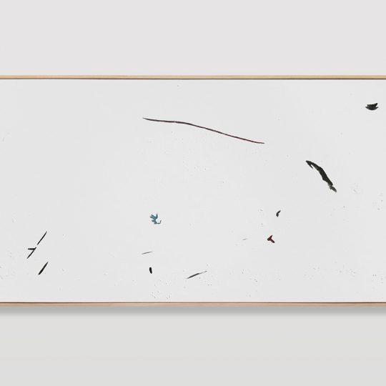 Untitled (painted arrangement #10)